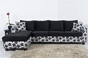 NEW 4 SEATER SOFA WITH CHAISE