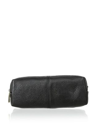 54% OFF Zenith Women's Leather Cosmetic Case, Black
