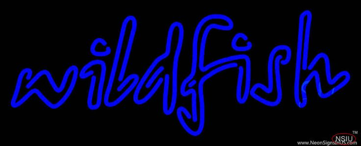 Wildfish Seafood Real Neon Glass Tube Neon Sign,Affordable and durable,Made in USA,if you want to get it ,please click the visit button or go to my website,you can get everything neon from us. based in CA USA, free shipping and 1 year warranty , 24/7 service