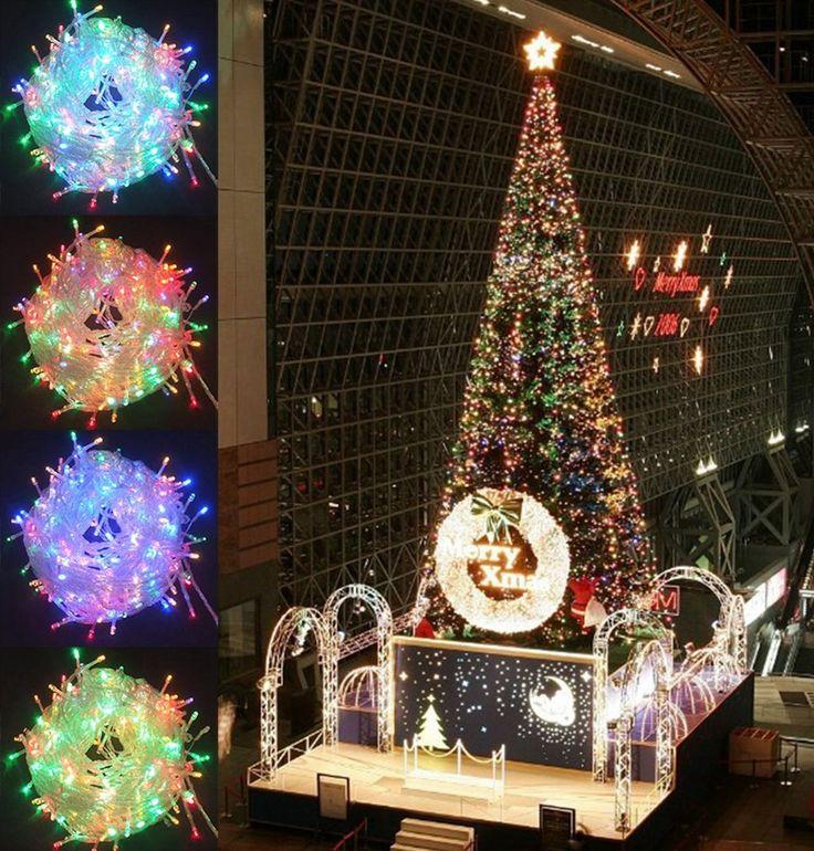 17 best christmas light strings images on pinterest window only 3999 for sale christmas light string for house decoration 500 led bulb 100m aloadofball Images