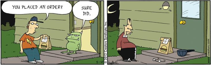 ❤ =^..^= ❤ Scary Gary Comic Strip, May 10, 2012 on GoComics.com