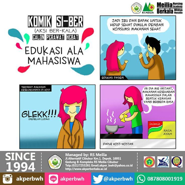 Komik SiBer #karir #perawat #akademi #keperawatan #akperberkala #akperbwh #akper #penerimaan #pendaftaran #kampus #kuliah #mahasiswa #perguruantinggi #pts #jalurmandiri #rsmeilia #cibubur #depok #cileungsi #bekasi #bogor #tangerang #jakarta #indonesia