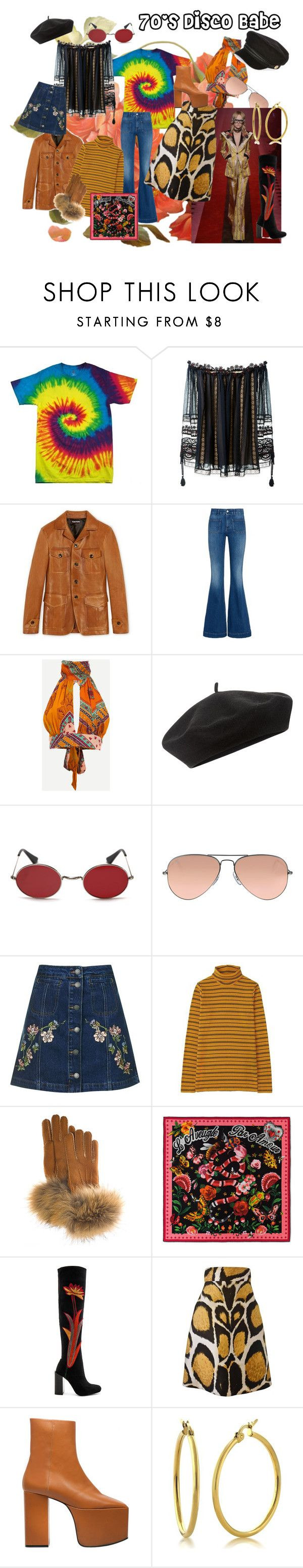 """""""S/S 2017 Trends"""" by bella1924l ❤ liked on Polyvore featuring Chloé, STELLA McCARTNEY, Accessorize, Murdock London, Ray-Ban, Topshop, Uniqlo, FRR, Gucci and Jeffrey Campbell"""