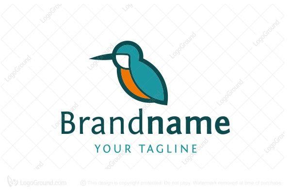 Kingfisher Bird Logo Bird Logos Kingfisher Bird Logos