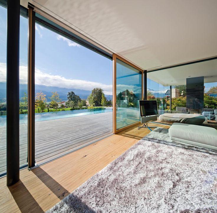 grenzenlos wohnen mit hebeschiebet ren f r uns die k nigsklasse der fenster wohnzimmer. Black Bedroom Furniture Sets. Home Design Ideas