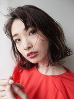 モリオ 原宿本店(morio from London)【morio原宿】原宿 髪型 黒髪シースルーボブ