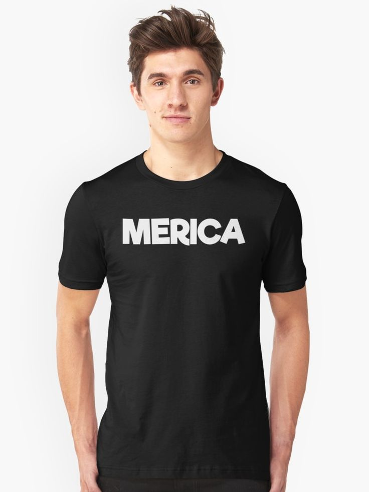 MERICA. This Awesome Novelty T-Shirt Is Sure To Get A Reaction From Friends And Family! Have Fun With This Graphic Tee. Makes An Awesome Gift Or Buy One For Yourself. Check Out More Great Designs From TheFlying6! • Also buy this artwork on apparel and home decor.