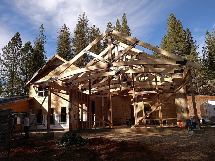 American Pole and Timber manufactures structural timber trusses for commercial construction and custom homes. Our online tools make ordering timber trusses easy.