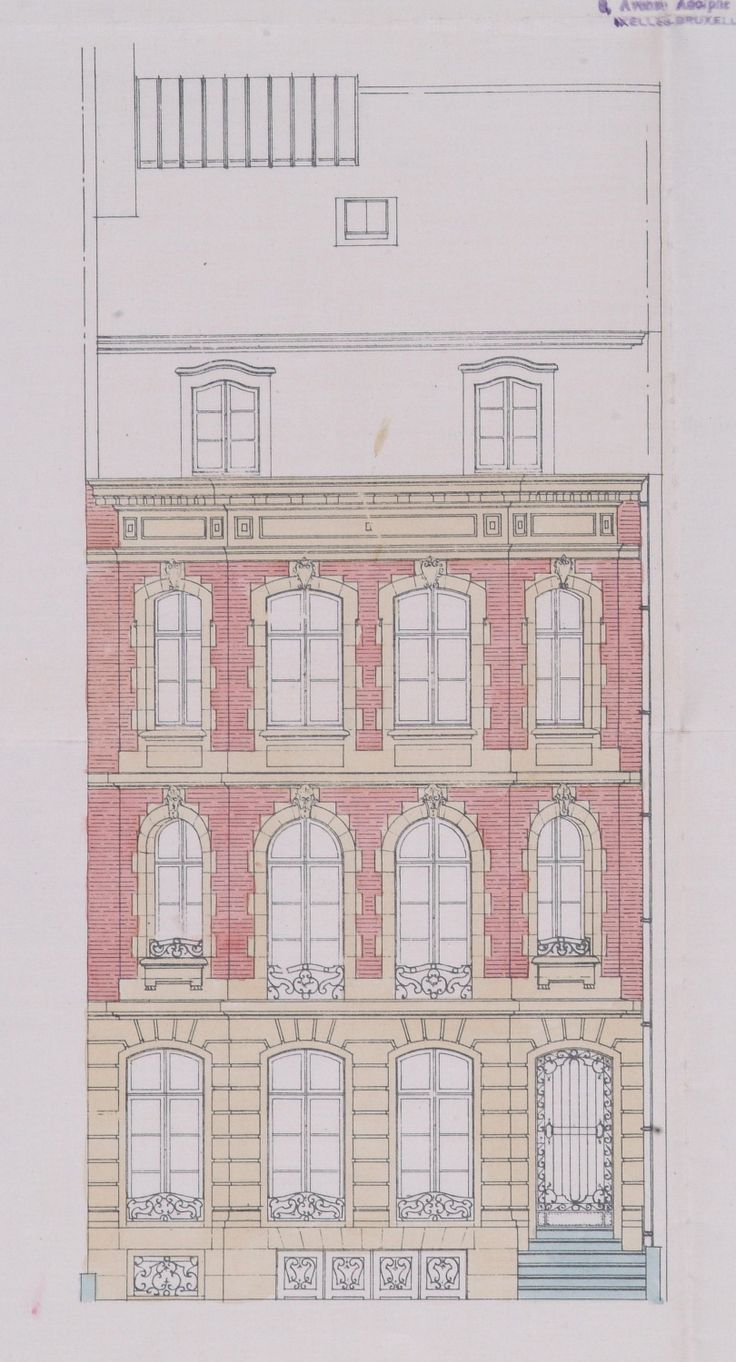 Bruxelles Extension Sud - Avenue Lloyd George 16 - HALLAUX Joseph