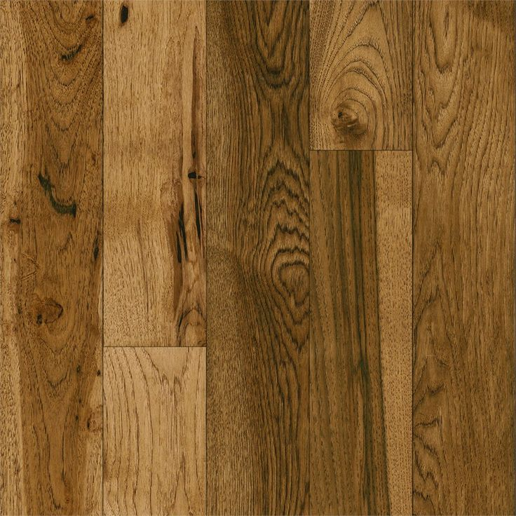 Bruce America S Best Choice 5 In W Prefinished Hickory Hardwood Flooring Honey Grain
