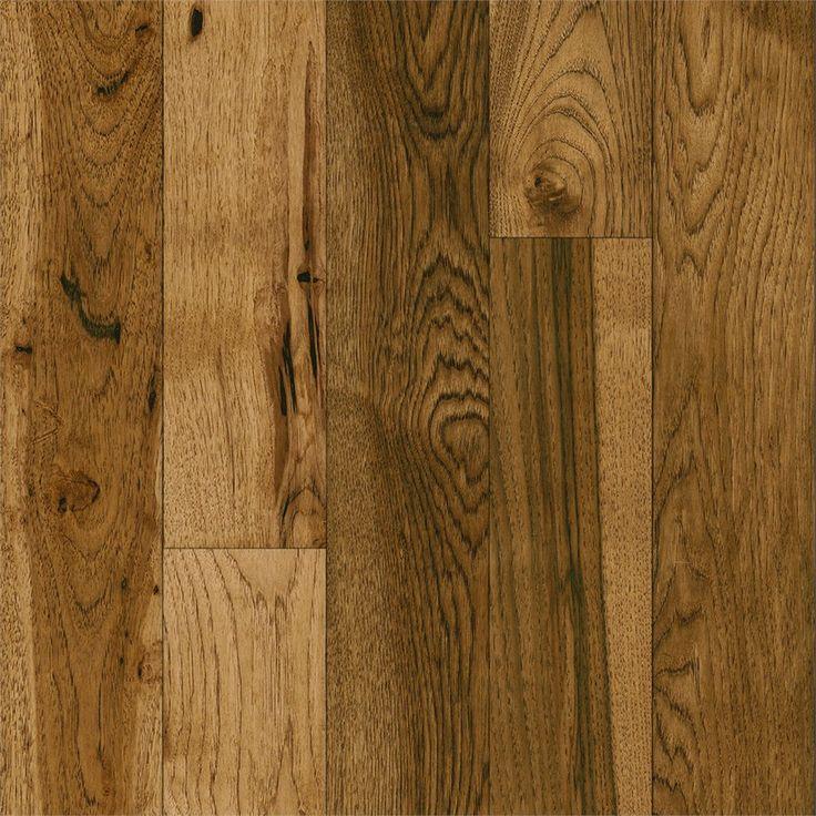 Bruce America's Best Choice 5-in W Prefinished Hickory Hardwood Flooring (Honey Grain)