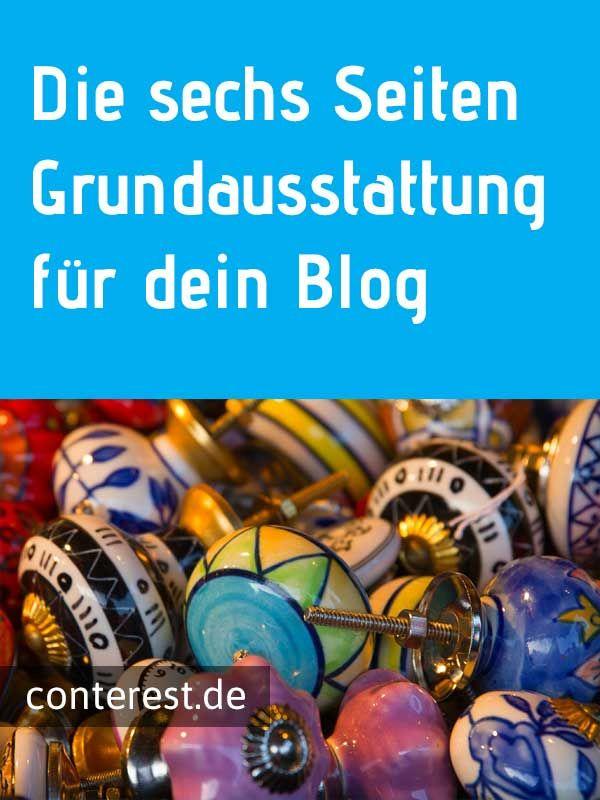 Die sechs Seiten Grundausstattung für dein Blog — Sven Lennartz  #bloggen [Archiv]