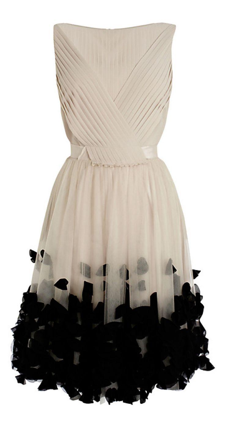 Petal tulle dress