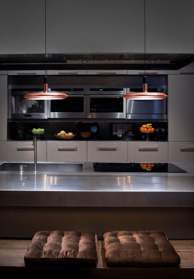 17 mejores ideas sobre iluminaci n de colgantes de cocina - Luminarias para cocina ...