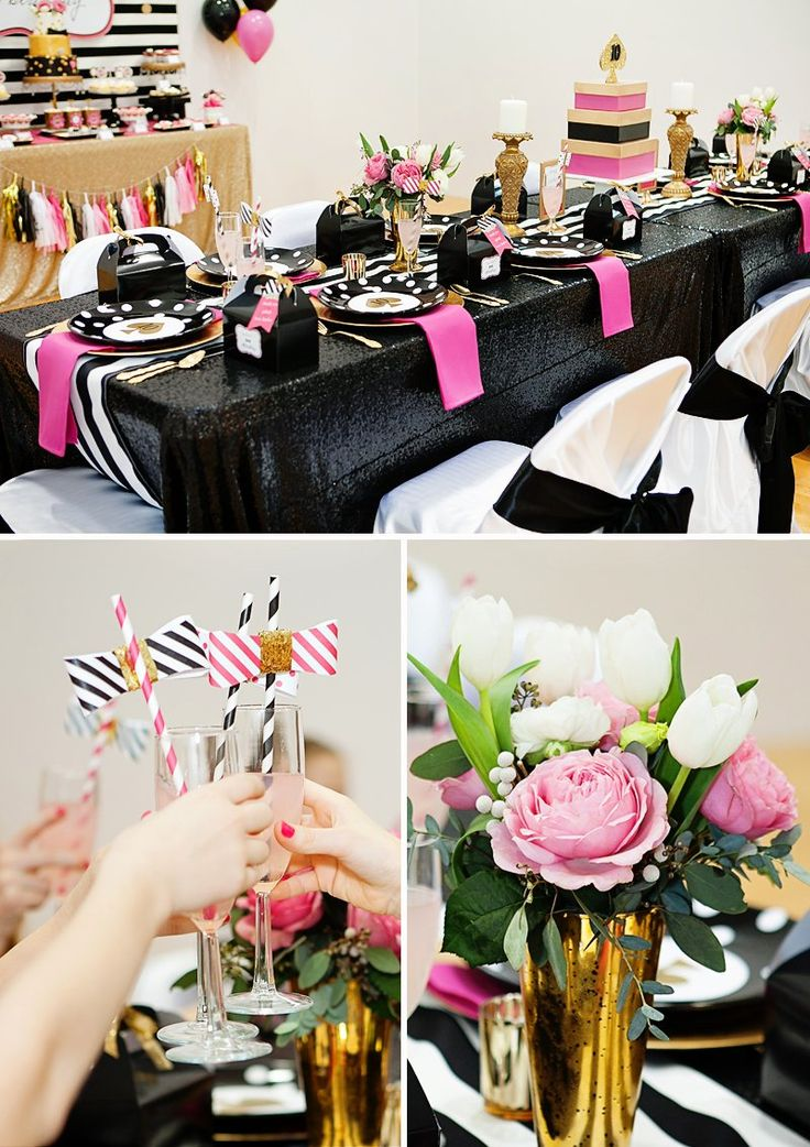 14 Best Kate Spade Fashion Bow Inspired Party Images On Pinterest