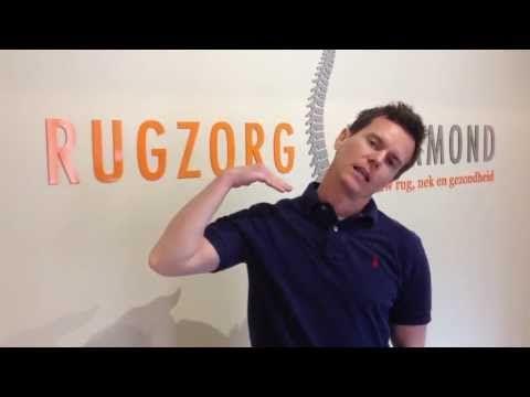 Rugzorg Roermond nek & bovenrug oefeningen programma - YouTube