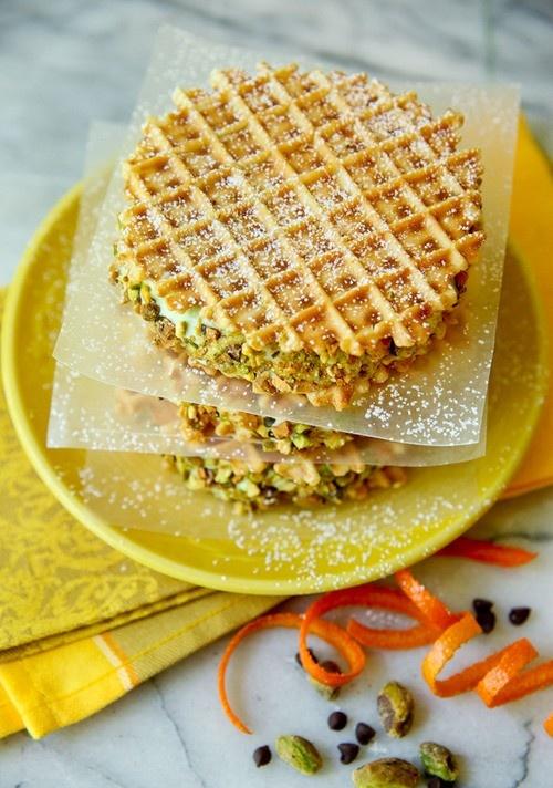 pistachio waffles? :]
