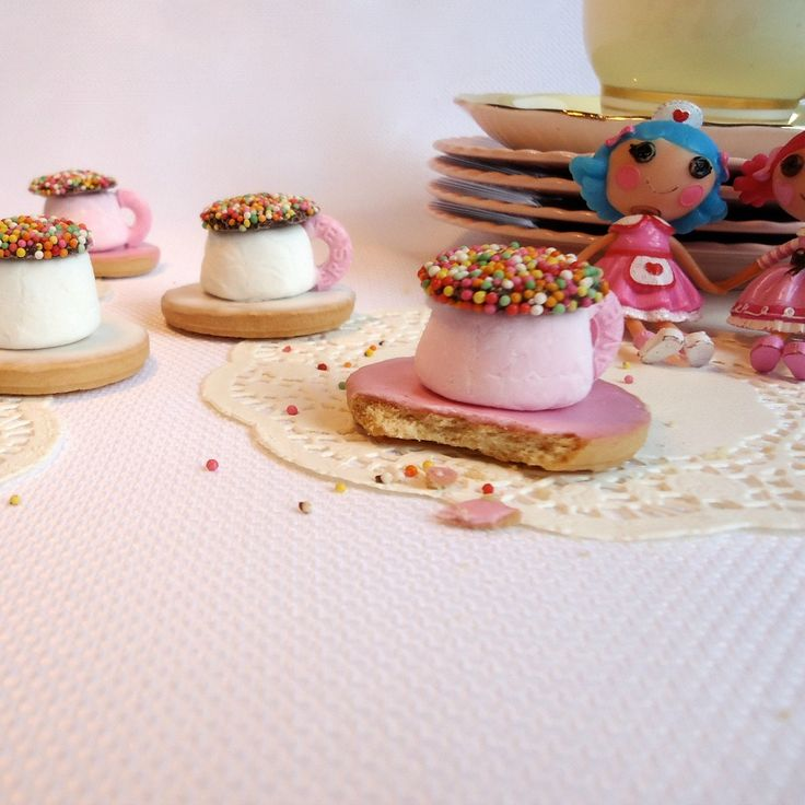 """Willy Wonka: 18 """"Golden ticket"""" worthy sweets and treats. Cup and Saucer Biscuits by magical are just the beginning!"""