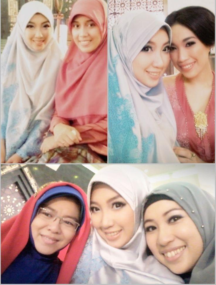 Khimar style for attending Walimah #HijabShar'i #Muslimfashion #weddingstyle