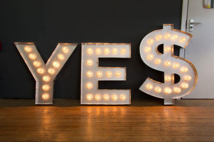 YE$' illuminated Fairground Light Bulb Letters by Goodwin + ...:'YE$' illuminated Fairground Light Bulb Letters by Goodwin + Goodwin.  http://www.goodwinandgoodwin.com/pages/custom-bulb-signage | TurboLites |  Pinterest ...,Lighting