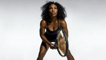 "Serena Williams | photo by Christopher Griffth | from the article, ""The Meaning of Serena Williams"" by The New York Times - Serena is on the verge of tying Steffie Graf for 2nd place on the list of all time MAJOR (Australian Open, French Open, Wimbledon, US Open) singles tennis titles."