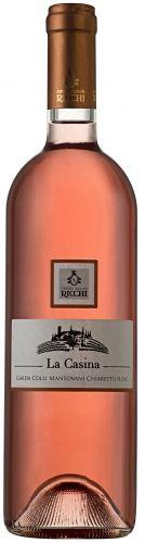 2015er Chiaretto Colli Mantovani «La Casina» DOC trocken Restzuckergeh.4.00 g/L  Säuregehalt6.00 g/L  Alkoholgehalt12.50 %vol