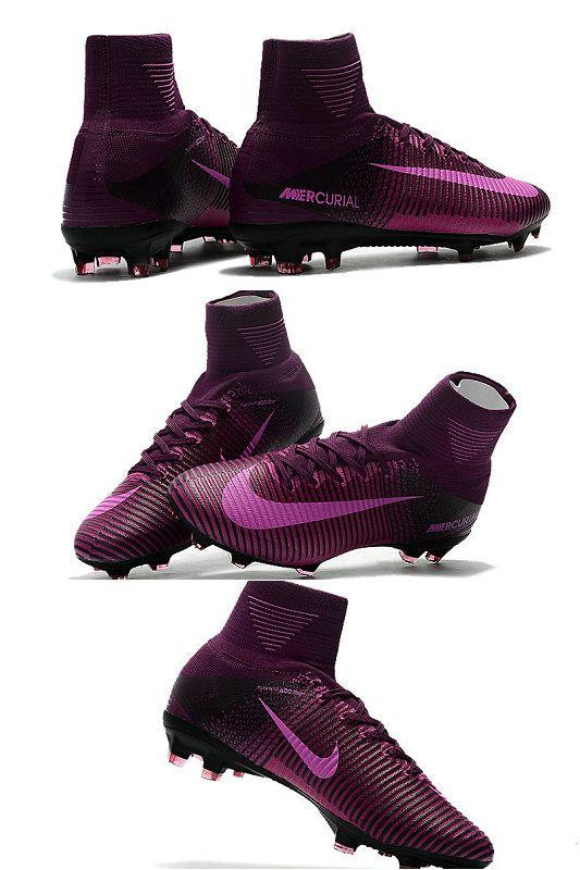 big sale ad351 577cd Nike Mercurial Superfly V DF FG Cleat - Violet