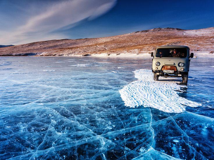 https://flic.kr/p/EW7iH2   Lake Baikal   Ice cracks in frozen Lake Baikal  HD Video: youtu.be/MWu3JR2lH6M