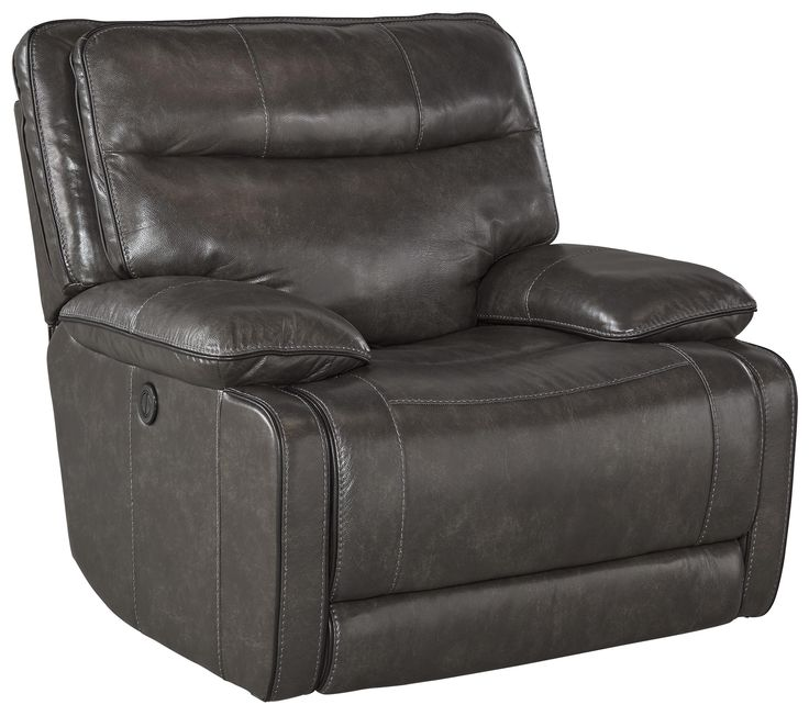 palladum leather match power rocker recliner by signature design by ashley at miskelly furniture