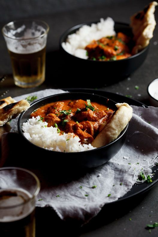 Butter chicken curry:
