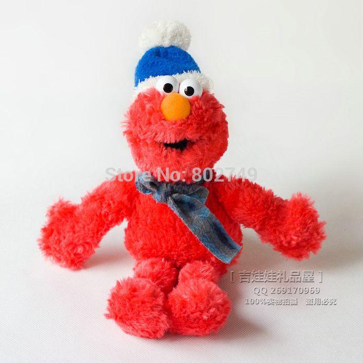 Улица сезам Elmo чучело 22 см элмо плюшевые игрушки