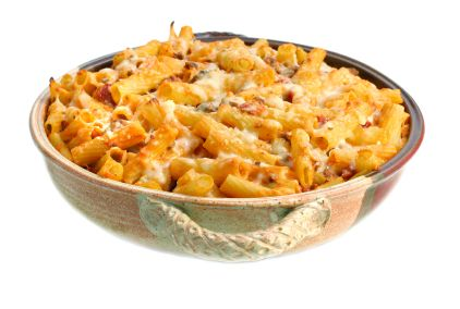 Fully Loaded Baked Ziti w/Half the Calories!: Hungry Girls, Loaded Baking, Baking Ziti, Baked Ziti, Food, Dr. Oz, Vegetarian Recipe, Girls Fully, Fully Loaded