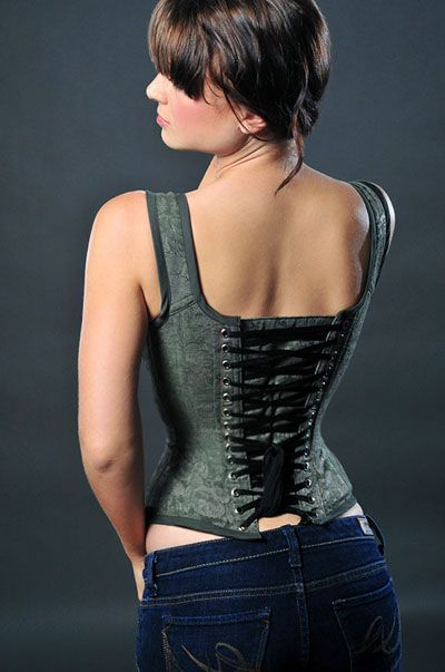 I wish I had the money to commission all the corsets I wanted.: Corsets 18, Corsets Lace, Dress Mood Enhancers Corsets, Corset Dresses, Fashion Corsets, Corset Cinchers, Corset Adults, Antoinette Style, Collar Choker Corset