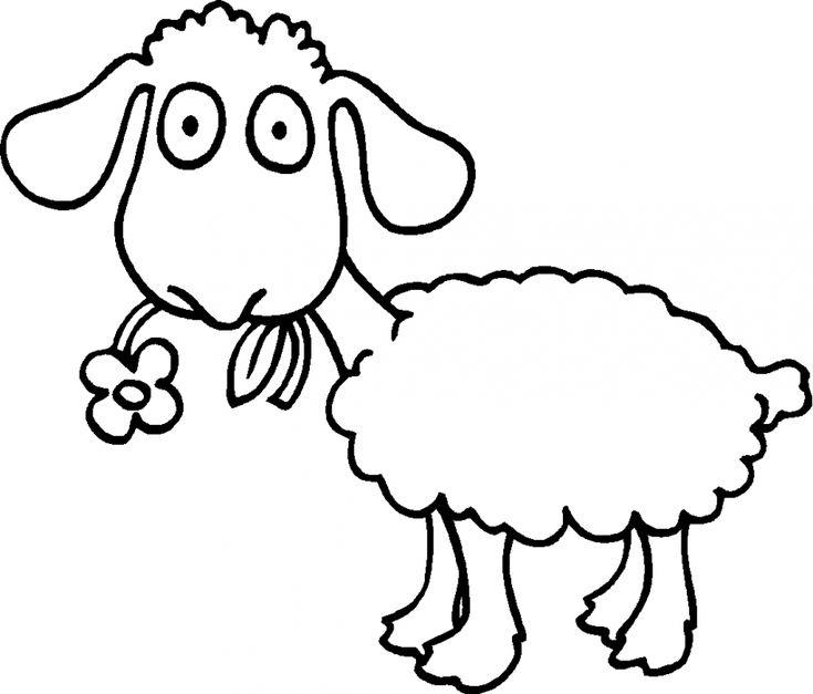 Magnífico Página Para Colorear De Baa Baa Black Sheep Bandera ...