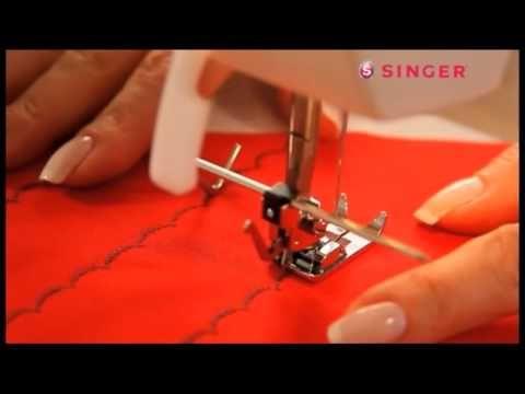 Kıvırma Ayağı Nasıl Kullanılır? / How to use the folding leg in the sewing machine - YouTube