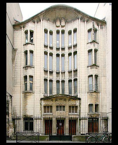 Synagogue de la rue Pavée (Agoudas Hakehilos) [1913]- Par Hector Guimard . Paris