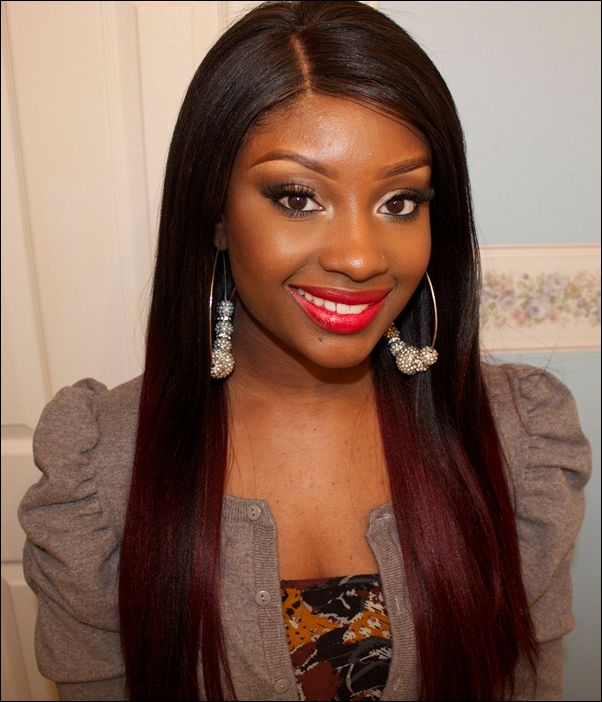 What Color Highlights For Dark Brown Hair African American