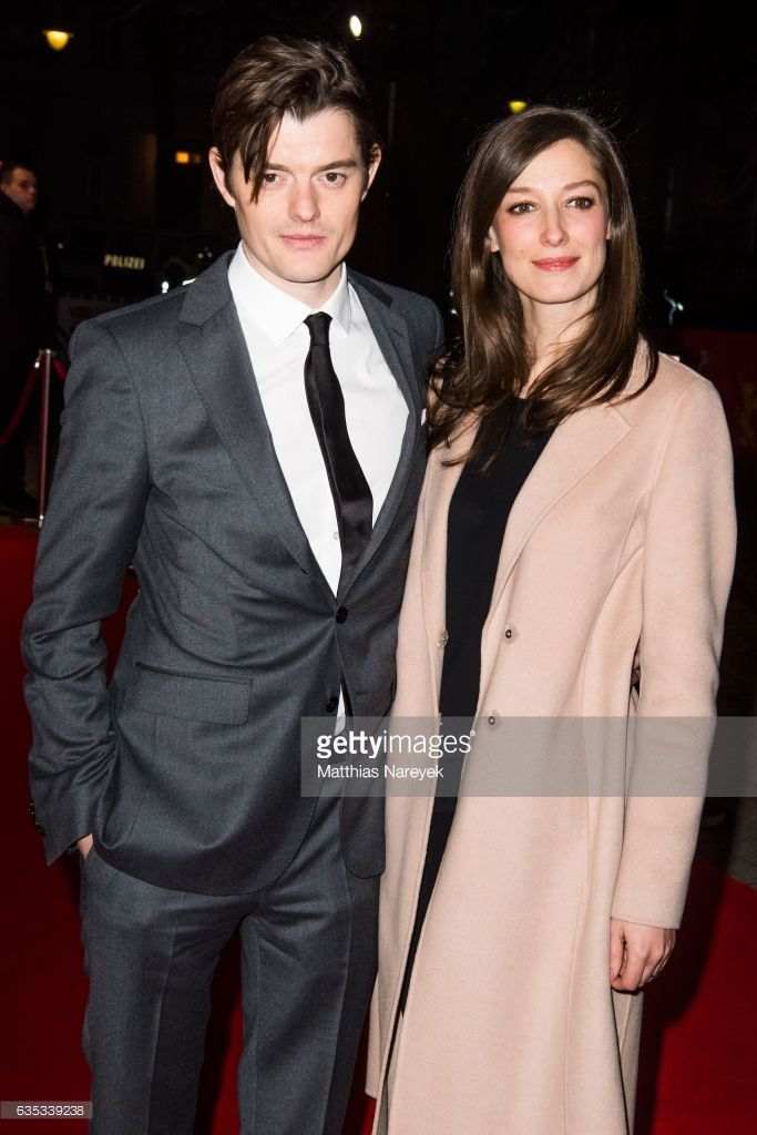 Sam Riley and Alexandra Maria Lara attend the 'SS-GB' premiere during the 67th Berlinale International Film Festival Berlin at Haus der Berliner Festspiele on February 14, 2017 in Berlin, Germany.