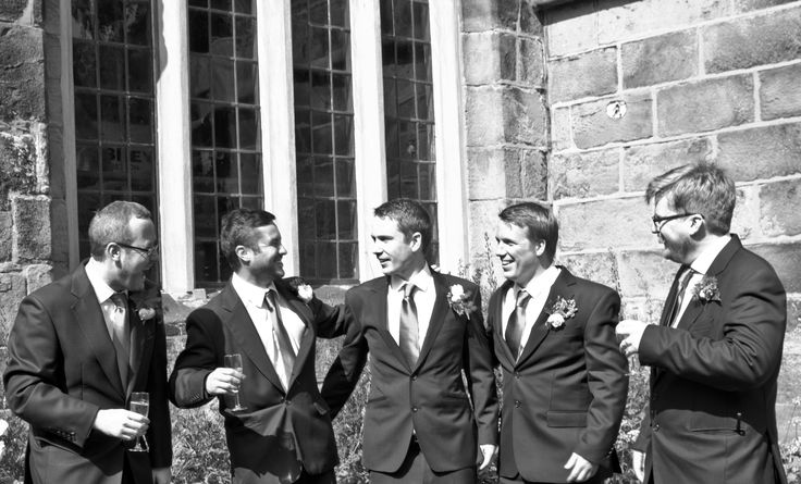 The groom and his usher's.