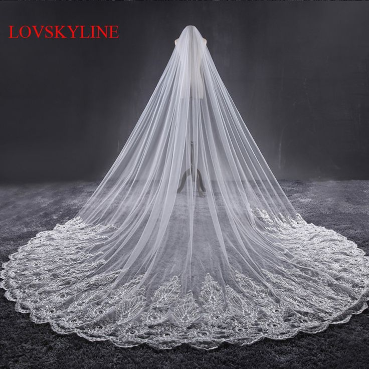 Cathedral Wedding Veil Quality Directly From China Bridal Suppliers 3 2m Meter Ivory Veils Long Lace Edge