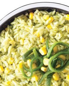 receta de arroz a la poblana