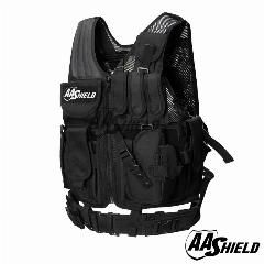 [ $50 OFF ] Aa Shield Law Enforcement Tactical Swat Vest Military Police Vest Black