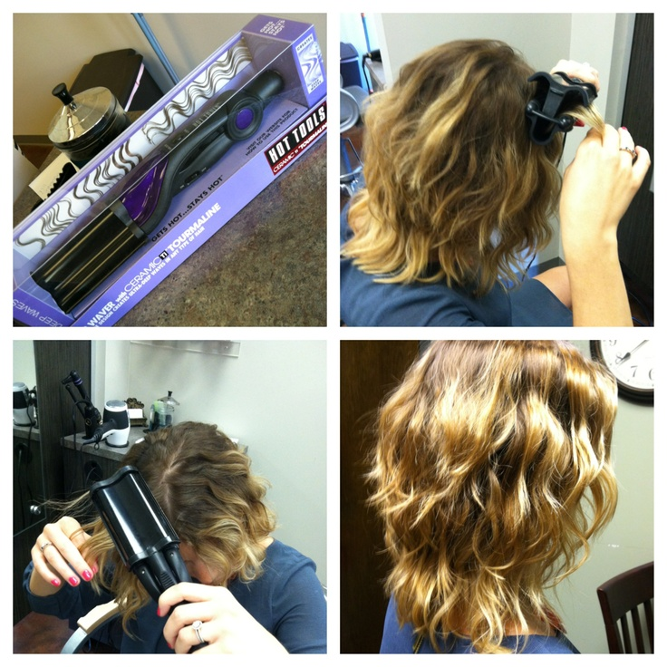 Want luxurious waves for the summer? Try our new Hot Tools Deep Waver!!