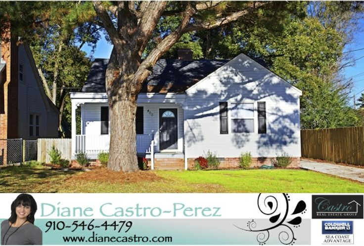**NEW LISTING** 3 Bedroom 2 Bath home in the heart of Jacksonville NC! Only $130,000!!  Call 910-546-4479 today for your personal showing! #realestatelife #jacksonvillenchomes #cbsca #dianecastroperez
