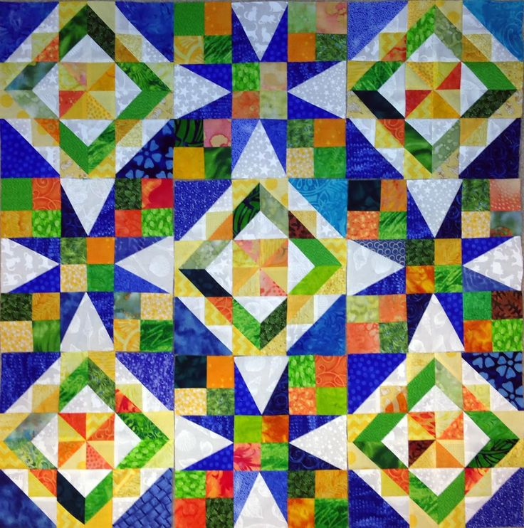 Celtic Solstice - Bonnie Hunter's Celtic Solstice Mystery Quilt: The design is revealed!