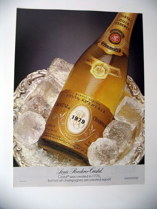 Louis Roederer Cristal Champagne 1979