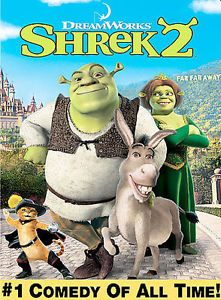 Shrek-2-DVD-2004-Widescreen-NEW-SEALED-FREE-SHIPPING-TRACKING-CONT-US