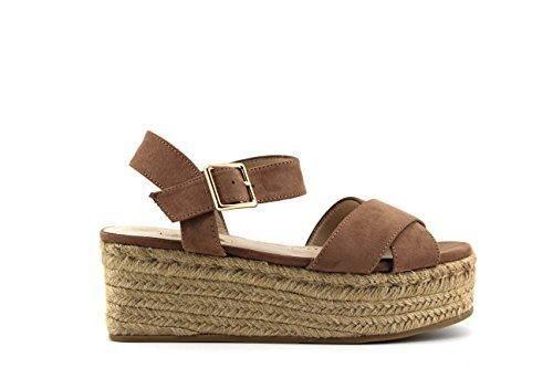 Oferta: 20.99€. Comprar Ofertas de Modelisa - Sandalias Plataforma Mujer (40, Rosa Palo) barato. ¡Mira las ofertas!
