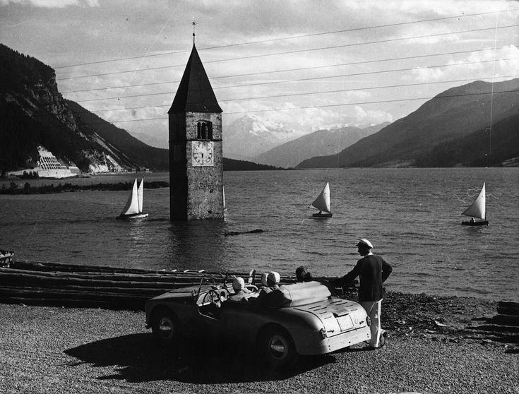 Il lago di Resia, 1953