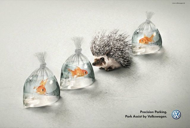 Great Volkswagen ad...watch out for pokey!